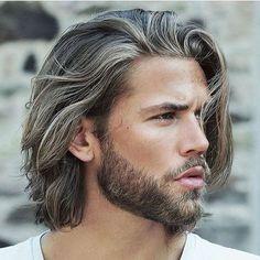 Long Surfer Hair