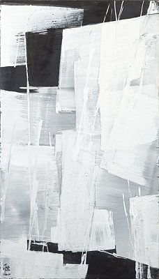 The Tolman Collection: New York - Toko Shinoda Black And White Painting, Black And White Abstract, Abstract Expressionism, Abstract Art, Modern Art, Contemporary Art, Art Chinois, Japanese Art, New Art