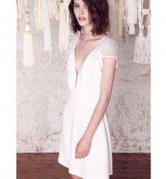 the wedding collection of sessun oui! Perfect Wedding Dress, Wedding Looks, Wedding Bride, Wedding Dresses, Dress Skirt, Dress Up, Silk Dress, Parisian Wedding, Mode Glamour