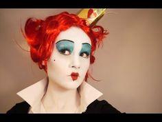 Alice im Wunderland Herzkönigin Kostüm selber machen | maskerix.de