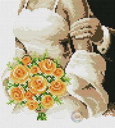 Gallery.ru / 75.355_Metrika wedding - Vervaco - NataVosk