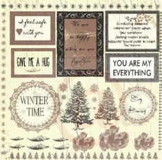 """""""Winter Letters"""" HOT CHOCOLATE edition"""