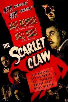 Sherlock Holmes - The Scarlet Claw (1944) Stars: Basil Rathbone, Nigel Bruce