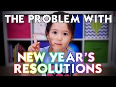 A 4-year old explains the problem with New Year's resolutions - YouTube