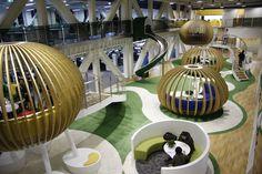Qihoo Office Headquarters Interior Design in Beijing, China.....