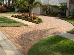 Image result for cement block driveway ideas miami, fl