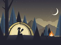 Campout by Matt Anderson