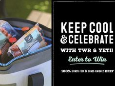 Win a Hopper Two 20 Yeti cooler and eight packs of Teton Waters Ranch products. $100.00 value! Enter to win today.