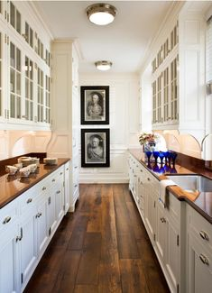 galley kitchen | GP Schafer Architects