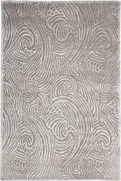 Highclere White/Grey Area Rug