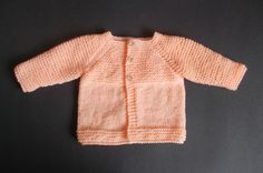 Babbity Baby Jacket Small Premature Baby Size: Width: Length: Tension: = Requires: Around of DK yarn 2 buttons