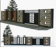 5 Enticing Clever Tips: Dog Fence For Jumpers front yard fence doors.Gabion Fence Home dog fence on a budget. Garden Fence Panels, Fence Planters, Lattice Fence, Front Yard Fence, Gabion Fence, Bamboo Fence, Cedar Fence, Tor Design, Fence Design