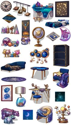 Party In My Dorm<<this is like my dream decor- :O Witch Aesthetic, Aesthetic Art, Character Art, Character Design, Art Mignon, Prop Design, Witch Art, Ravenclaw, Cute Stickers