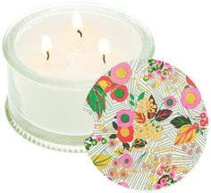Library of Flowers candle