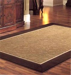 Tip If you have lots of exposed floor (tile, wood etc.) place rugs in places where people spend their time, this will help keep feet feeling warmer. Energy Saving Tips, Save Energy, Kitchen Area Rugs, Cool Kitchens, My House, Tile Floor, Hardwood, Dining Table, Flooring