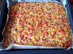 Mediterranean cuisine – The Very Best Pizza recipes Pizza Snacks, Pizza Taco, Chicken Pizza, Torre Pizza, Pizza Legal, Bread Starter, Whole Wheat Pizza, Pizza Casserole, Barbecue Recipes