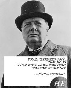 Quote of the Day: Winston Churchill