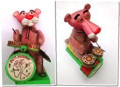 Brinquedos Antigos da Pantera Cor-de-Rosa – Lembranças de Bons Tempos