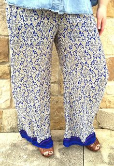 Lucky One - Trend Comfy, beautiful plus size palazzo pants