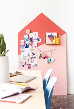 How to Make a Giant DIY Mood Board Organizer