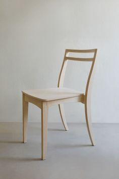 New Curve Chair by Kittipoom Songsiri, via Behance
