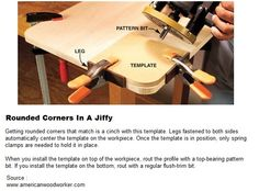 Rounded Corners In A Jiffy | WoodworkerZ.com