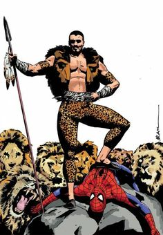 kraven the hunter comics | Kraven the Hunter (Character) - Comic Vine