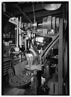 """Photo Index - Champion Blower & Forge Co. - Champion 20"""" Camelback Drill Press   VintageMachinery.org"""