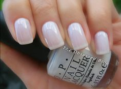 OPI - Funny Bunny - Base coat, 2 coats polish & top coat.
