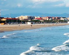 Beach in Valencia, espana