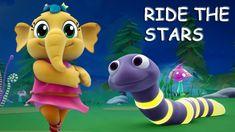 Emmie - Baby Lullaby Ride The Stars Kids Nursery Rhymes, Rhymes For Kids, Baby Songs, Kids Songs, Kids Tv, Our Kids, Dino Train, Dinosaur Songs, Baby Lullabies