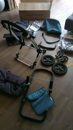 Bugaboo Petrol ready to be constructed