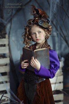 Corset Steampunk, Steampunk Kids, Steampunk Couture, Steampunk Cosplay, Steampunk Fashion, Steampunk Characters, Fantasy Costumes, Dieselpunk, Woman Face