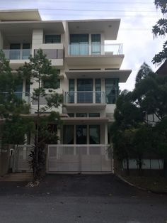 The house is located in a gated-and-guarded community within Damansara Heights.