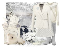 """Winter White Contest"" by tessbuckler ❤ liked on Polyvore featuring Halston Heritage, Burberry, Donna Karan, Belkin, Miss Selfridge, Forzieri, Full Tilt and Chanel"