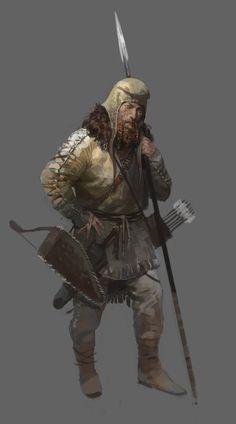 Scythian soldier by shanyar.deviantart.com on @DeviantArt