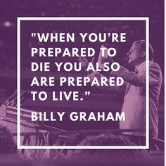 Billy Graham has graduated. One of the things I've heard in the last ten days or so is this question: Who will fill Billy Graham's shoes. While that's a powerful question but not necessarily the one that we should be asking ourselves right now. ...