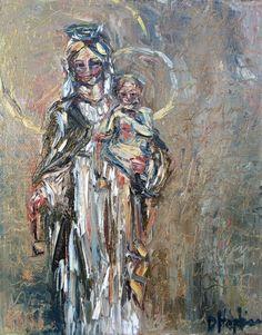 """Our Lady of Mount Carmel"" by Denise Hopkins Fine Art. 8x10, $112.00"