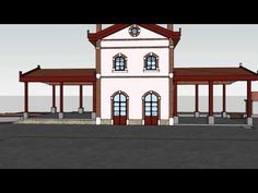 Magnesia Pelion Agria Old Train Station Animated Dr C Sachpazis