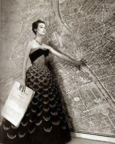Christian Dior. Mexique dress. 1951