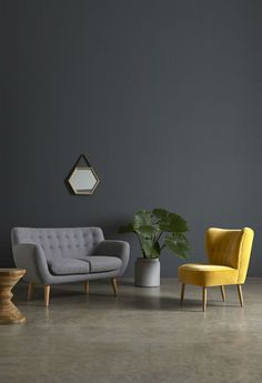 Grey living room design ideas, furniture and accessories that prove the cooling colour is the scheme for you.  #GreyLivingRoom #GreyLivingRoomIdeas #VelvetChair