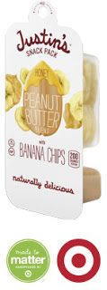These are delicious!!  Justin's New Peanut Butter + Banana Chips are a Match Made in Heaven! @justins
