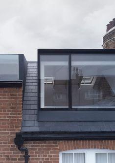 reveal in roof / loft conversion— con Loft Dormer, Dormer Roof, Dormer Windows, Loft Conversion Roof, Loft Conversion Bedroom, Loft Conversions, Loft Conversion Architect, Loft Conversion Victorian Terrace, Terraced House Loft Conversion