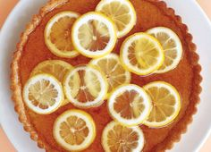 Lucas Schoorman, a Chelsea art dealer and hobbyist baker, introduced this elegant lemon tart to the Times in 2004. It's a showstopper dessert featuring two distinct, delicious layers: one of frangipani, an almond-rich custard, and another of shimmering lemon confit scattered with slices of lemon. It is mellow and barely sweet, rich and deep, with none of the attack of so many lemon desserts. (Photo: Tina Rupp for The New York Times)