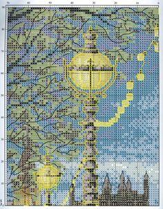 Cross Stitch World: Cross Stitch: NIGHT LONDON