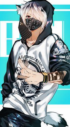 Ảnh sưu tầm, photo collection, anime guys in 2019 темное аниме Anime Neko, Garçon Anime Hot, Dark Anime Guys, Cool Anime Guys, Chica Anime Manga, Fanarts Anime, Kawaii Anime, Anime Boys, Wolf Boy Anime
