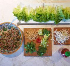 Dieters Delight: Vietnamese Pork (or turkey) Lettuce Wraps!
