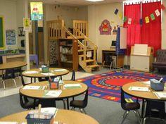 Kindergarten Classroom Setup, Classroom Layout, Classroom Decor Themes, Classroom Setting, Classroom Design, Classroom Organization, Classroom Management, Preschool Kindergarten, Classroom Ideas