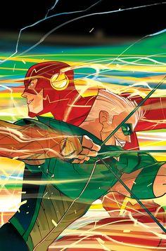 Benjamin Percy Talks Pairing Green Arrow And The Flash