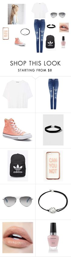 """""""Day at Bridge Street 💜"""" by madison-ghee ❤ liked on Polyvore featuring Vince, IRO, Converse, Topshop, adidas Originals, Missguided, TOMS and Alex and Ani"""